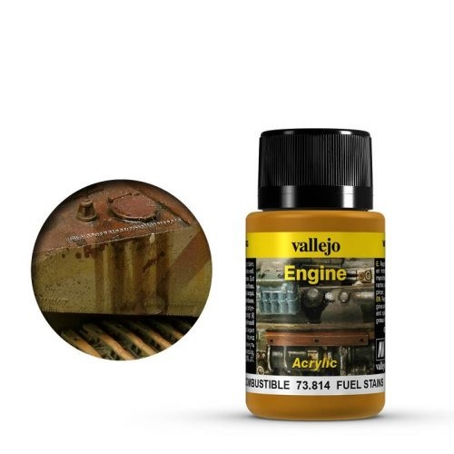 Vallejo Weathering Effects Engine Effect Fuel Stains 40 ml