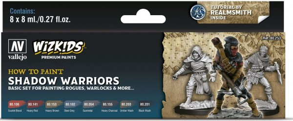 Vallejo Wizkids Premium: Shadow Warriors (8ml) (8)