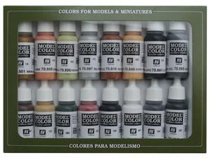 Vallejo Model Color: Set 07: WWII German Colours (16 Farben)