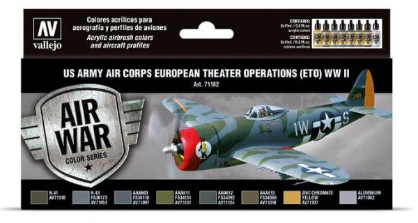 Model Air: Model Air Set US Army Air Corps European Theater Operations