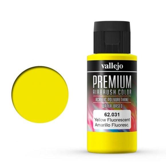 Vallejo Premium: Yellow Fluo (Polyu.) (60ml)
