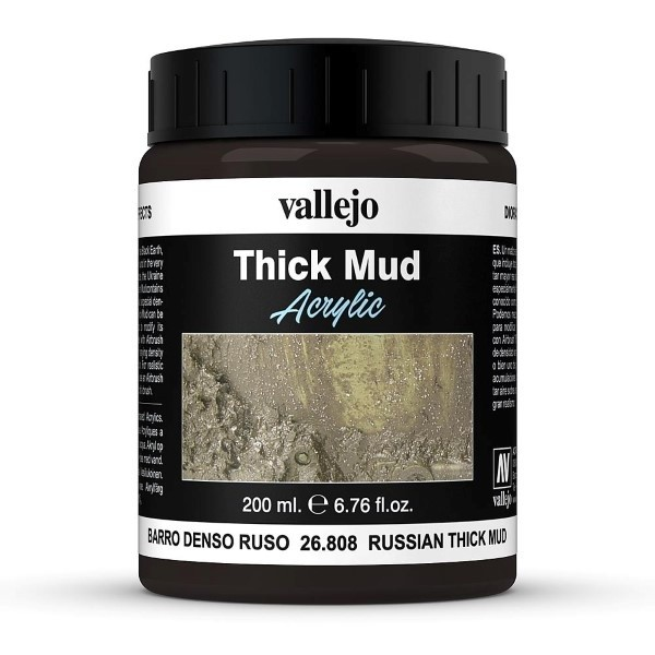 Vallejo Weathering Effects Thick Mud Russian 200 ml