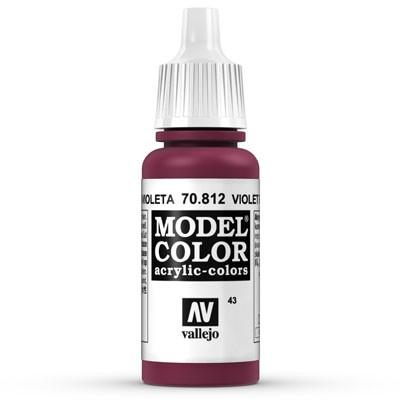 Vallejo Model Color: 043 Violett (Violet Red), 17 ml (812)