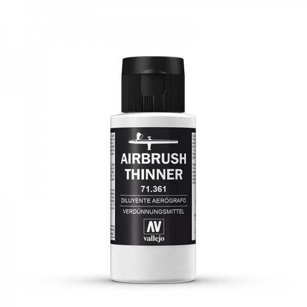 Vallejo Airbrush Verdünner (Thinner) (60ml) -neue Formel-