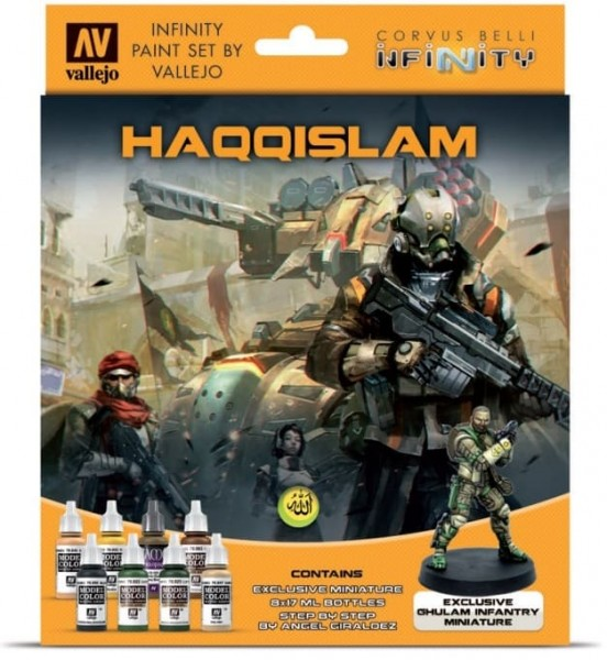 Vallejo Model Color: Infinty Haqqislam Exclusive Miniature Paint Set
