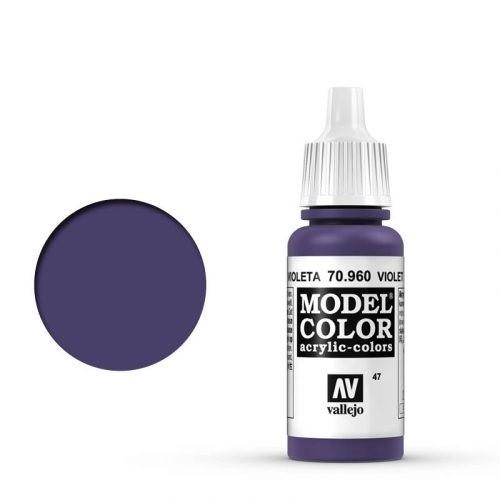 Vallejo Model Color: 047 Blauviolett (Violet), 17 ml (960)