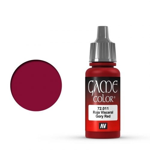 Vallejo Game Color: 011 Gory Red, 17 ml