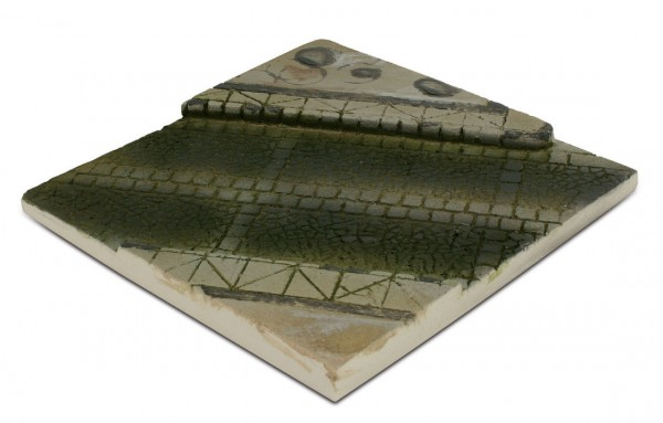 Scenics Diorama Bases: 14x14cm Paved Street Section