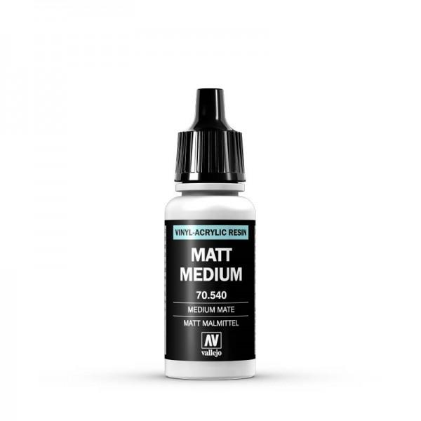 Vallejo Model Color: 189 Mattes Malmittel (Matte Medium), 17 ml (540)