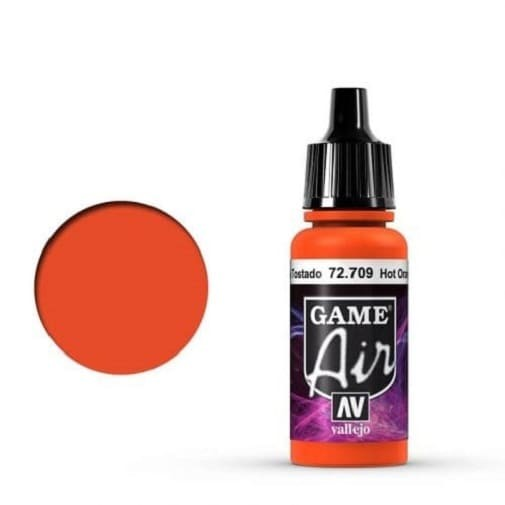 Vallejo Game Air 709 Hot Orange, 17 ml