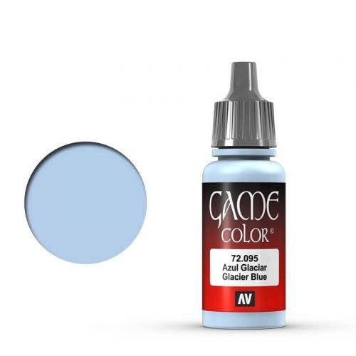 Vallejo Game Color: 095 Ice Blue, 17 ml