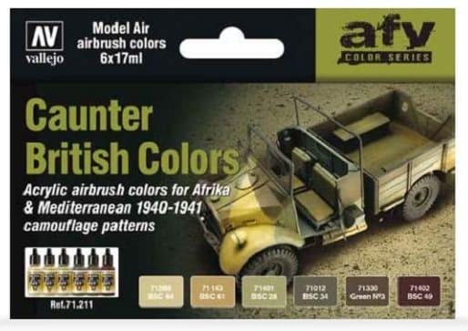 Model Air: Model Air Set British Caunter Colors