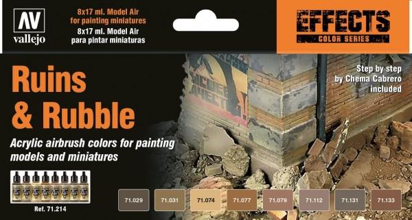 Model Air: Model Air Set Ruins & Rubble (8)