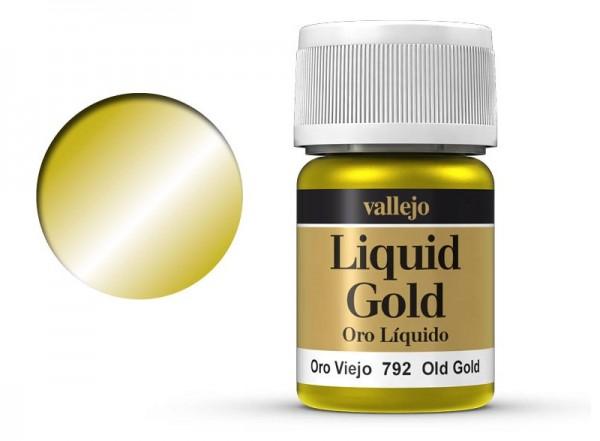 Vallejo Model Color: 213 Altgold (Old Gold), 35 ml (792)