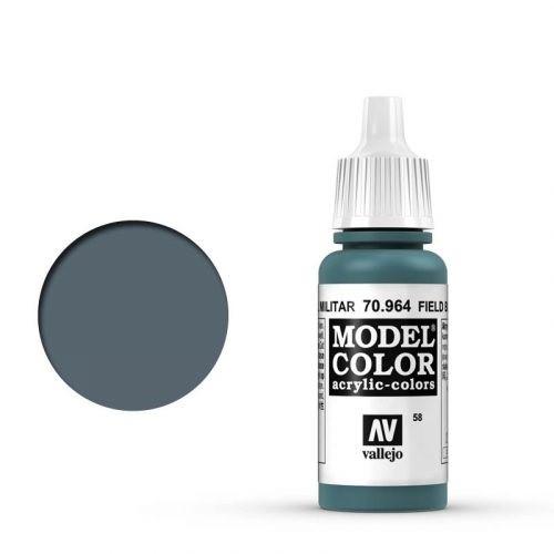 Vallejo Model Color: 058 Graublau hell (Field Blue), 17 ml (964)