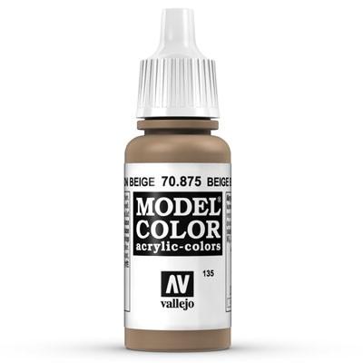 Vallejo Model Color: 135 Beigebraun (Beige Brown), 17 ml (875)
