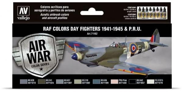 Model Air: Model Air Set RAF & FAA Day Fighters & PRU 1941-1945 (8)