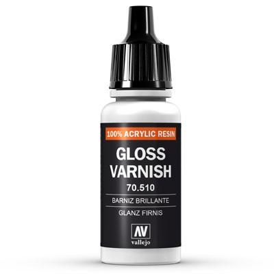 Vallejo Model Color: 193 Glanzlack (Glossy Varnish), 17 ml (510)