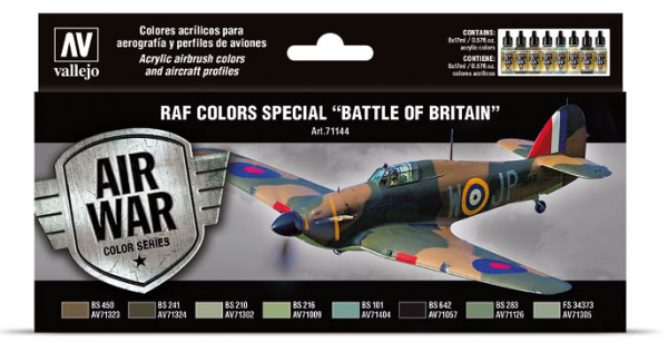 "Model Air: Model Air Set RAF & FAA Special ""Battle of Britain"" WWII (8)"