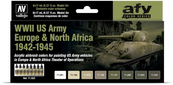 Model Air: WWII US Army Europe & North Africa 1942-1945