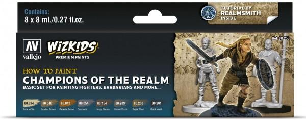 Vallejo Wizkids Premium: Champions of the Realm (8ml) (8)