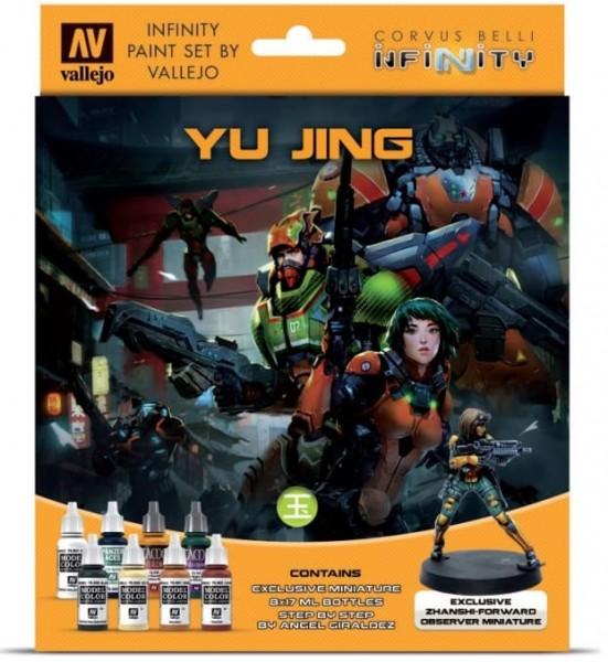 Vallejo Model Color: Infinity Yu Jing Exclusive Miniature Paint Set