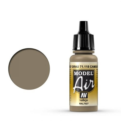 Vallejo Model Air: 71118 Camouflage Green 17 ml