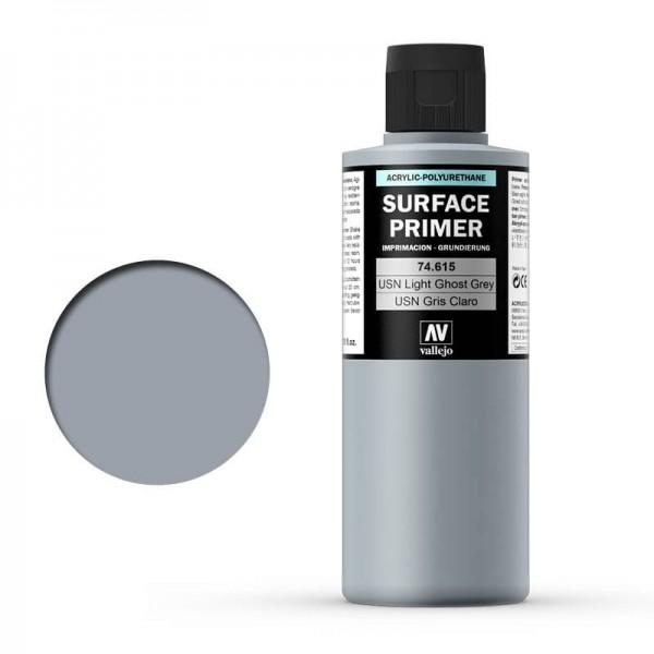 Vallejo Surface Primer USN Light Ghost Grey (200ml)