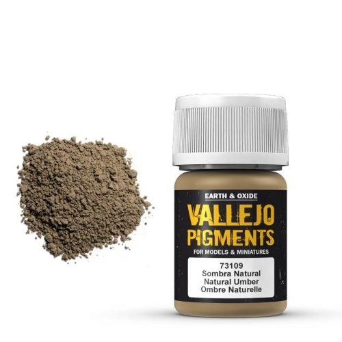 Vallejo Pigment Natural Umber 30ml