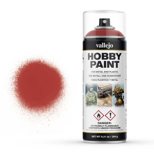 Vallejo Hobby Paint Spray Scarlet Red (400ml.)