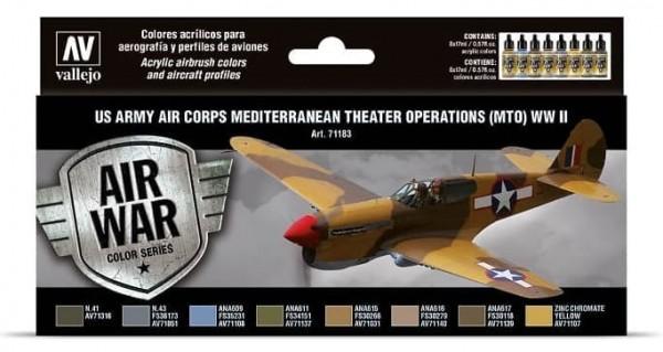 Model Air: Model Air Set US Army Air Corps Mediterranean Theater Op.