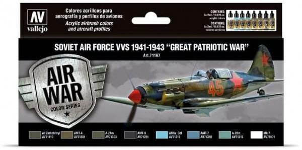 Model Air: Soviet Air Force VVS 1941 to 43 Great Patriotic War (8)