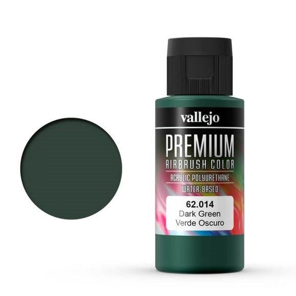 Vallejo Premium: Dark Green (Polyu.) (60ml)