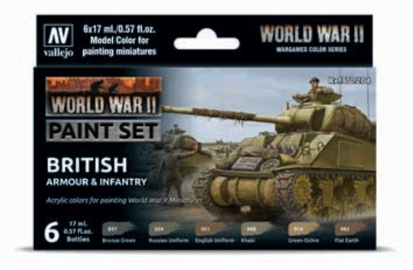 Vallejo Model Color: Model Color: WWII British Armour & Infantry