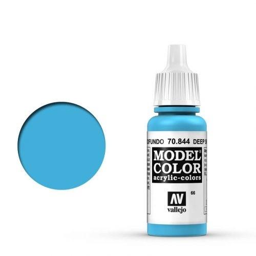 Vallejo Model Color: 066 Adria Blau (Deep Sky Blue), 17 ml (844)