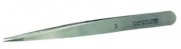 Vallejo Tool - 3 Stainless steel tweezers