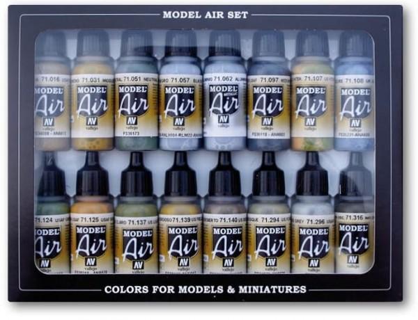 Model Air: Model Air USAAF Aircraft Set (16)