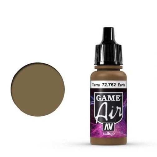Vallejo Game Air 762 Earth, 17 ml
