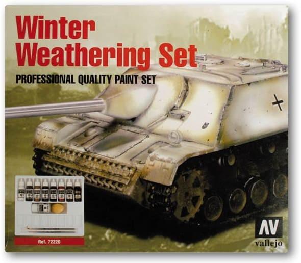 Vallejo Model Color: Winter Weathering Set