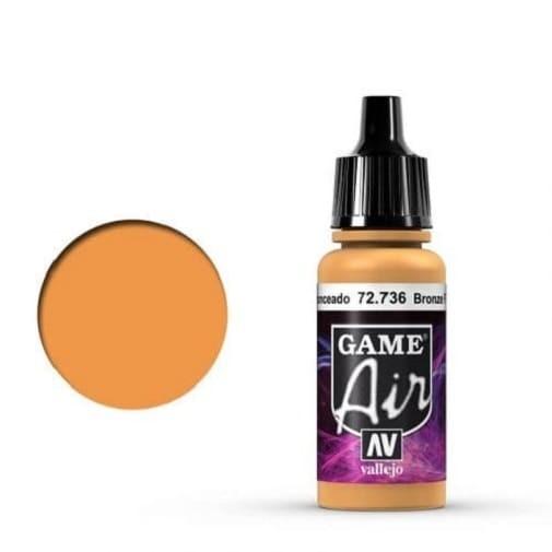 Vallejo Game Air 736 Bronze Fleshtone, 17 ml