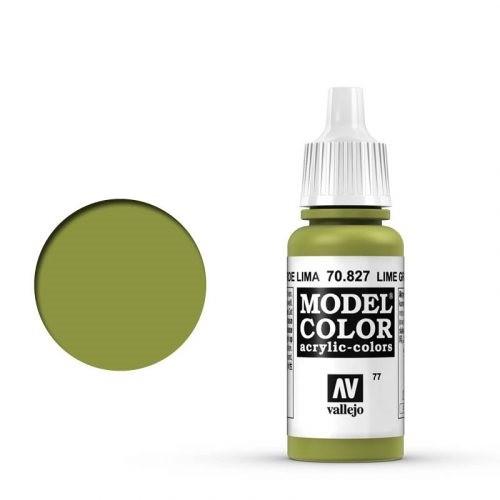 Vallejo Model Color: 077 Lindgrün (Limegrün), 17 ml (827)