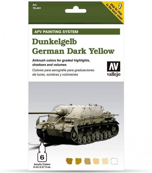 Model Air: Model Air Set AFV Dunkelgelb / German Yellow Set (8)
