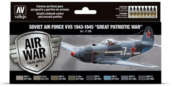 Model Air: Soviet Air Force VVS 1943 to 1945 Great Patriotic War (8)