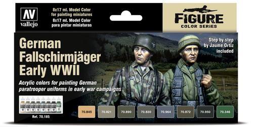 Vallejo Model Color: German Fallschirmjäger Early WWII - Figure Color Series