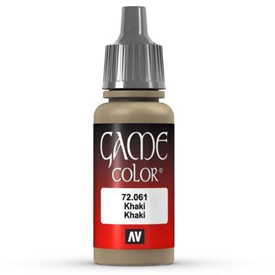 Vallejo Game Color: 061 Khaki, 17 ml