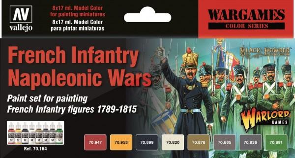 Vallejo Model Color: Model Color: French Infantry Napoleonic Wars Paint Set (6)