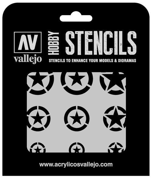 Vallejo Hobby Stencils: USAF Markings Markings