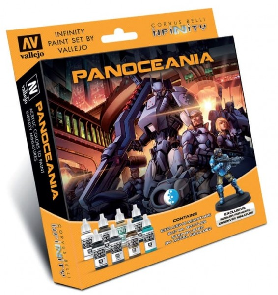 Vallejo Model Color: Infinity Panoceania Exclusive Miniature Paint Set