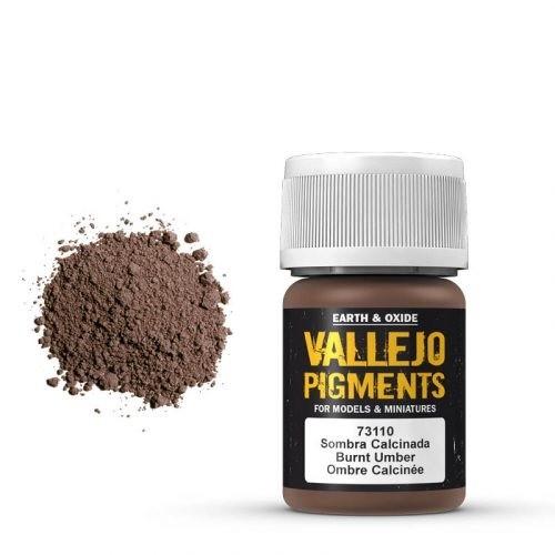 Vallejo Pigment Burnt Umber 30ml