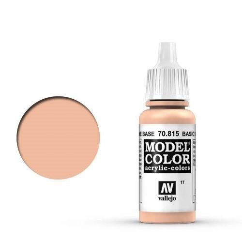 Vallejo Model Color: 017 Grund Hautfarbe (Basic Skintone), 17 ml (815)